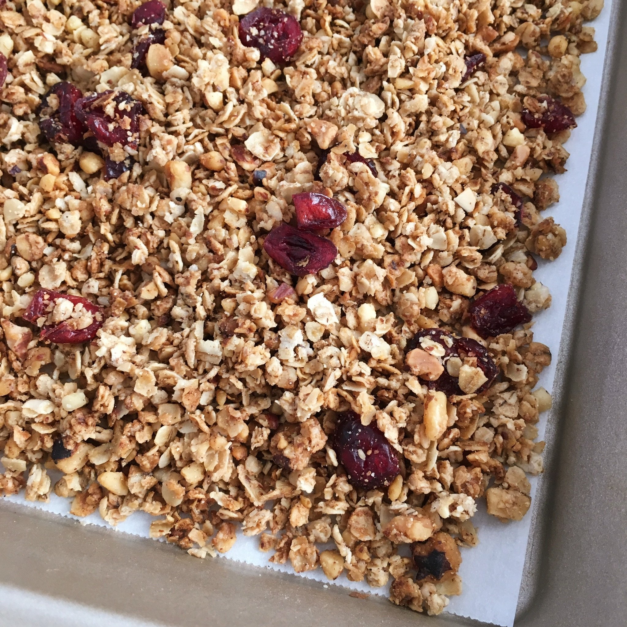 easy homemade granola gluten free #glutenfreerecipes www.healthygffamily.com