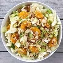 Asian Cabbage Salad Summer gluten free #glutenfreerecipes www.healthygffamily.com