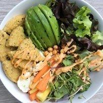 savory veggies bowl