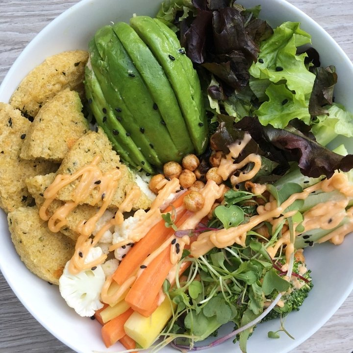 savory veggies bowl