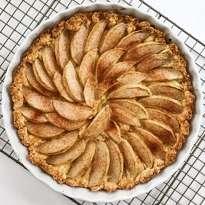 gluten free dutch apple cake #glutenfree #glutenfreerecipes www.healthygffamily.com