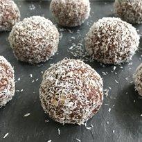 Walnut Date Bliss Bites gluten free vegan #glutenfreeerecipes www.healthygffamily.com