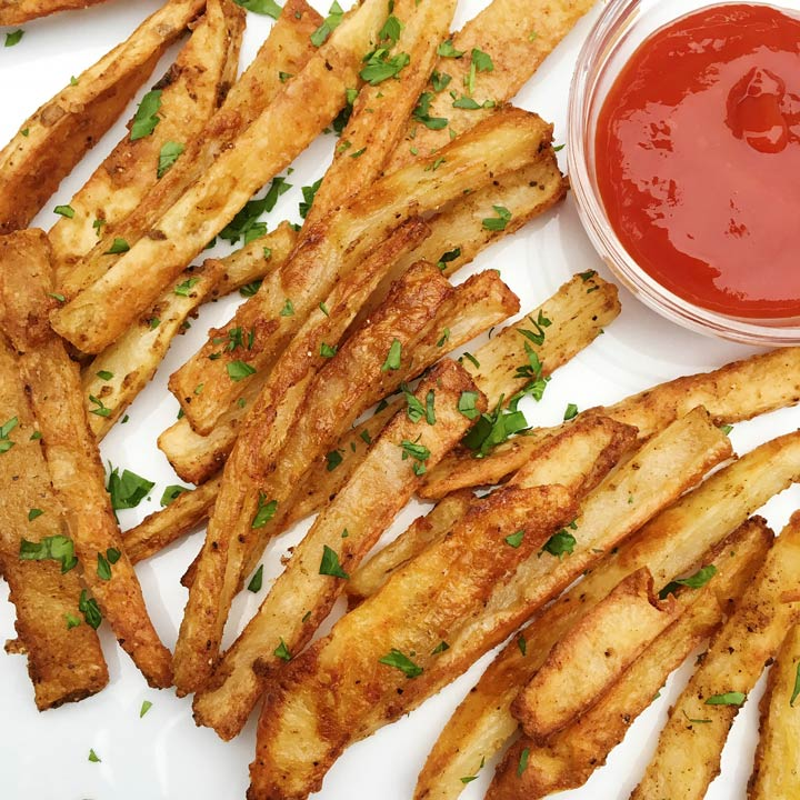 seasoned baked fries