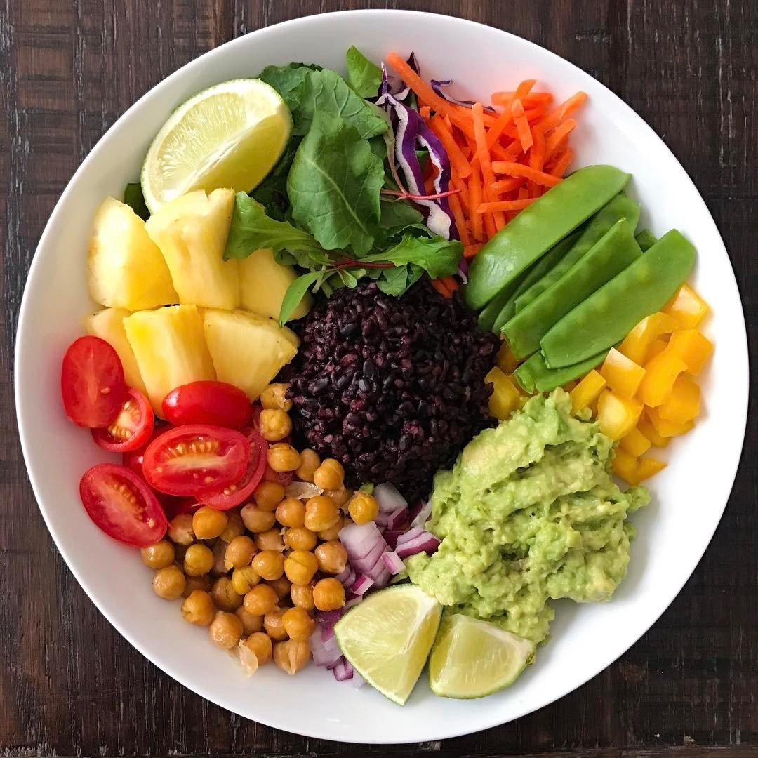 meatless monday buddha bowl