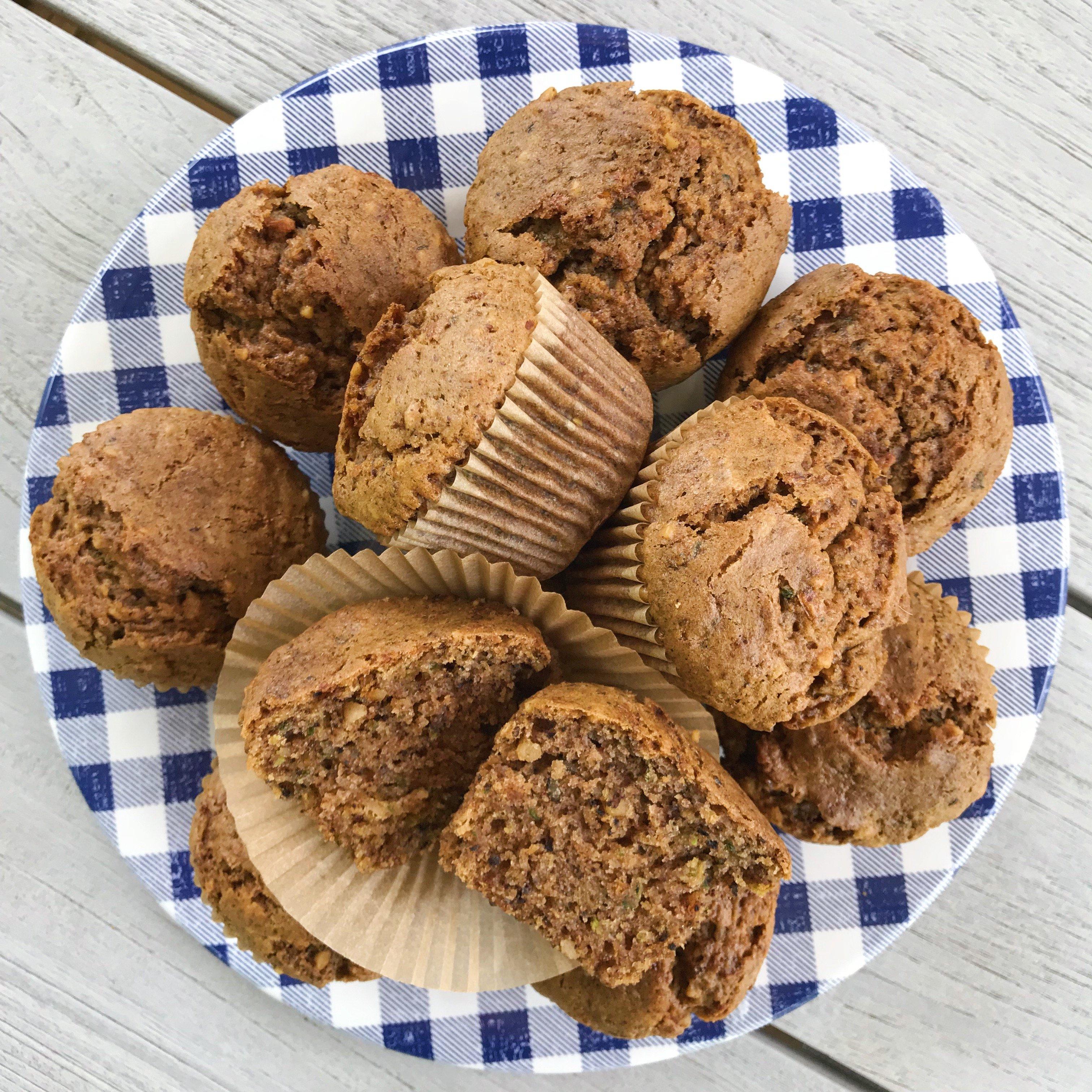 gluten-free zucchini muffins