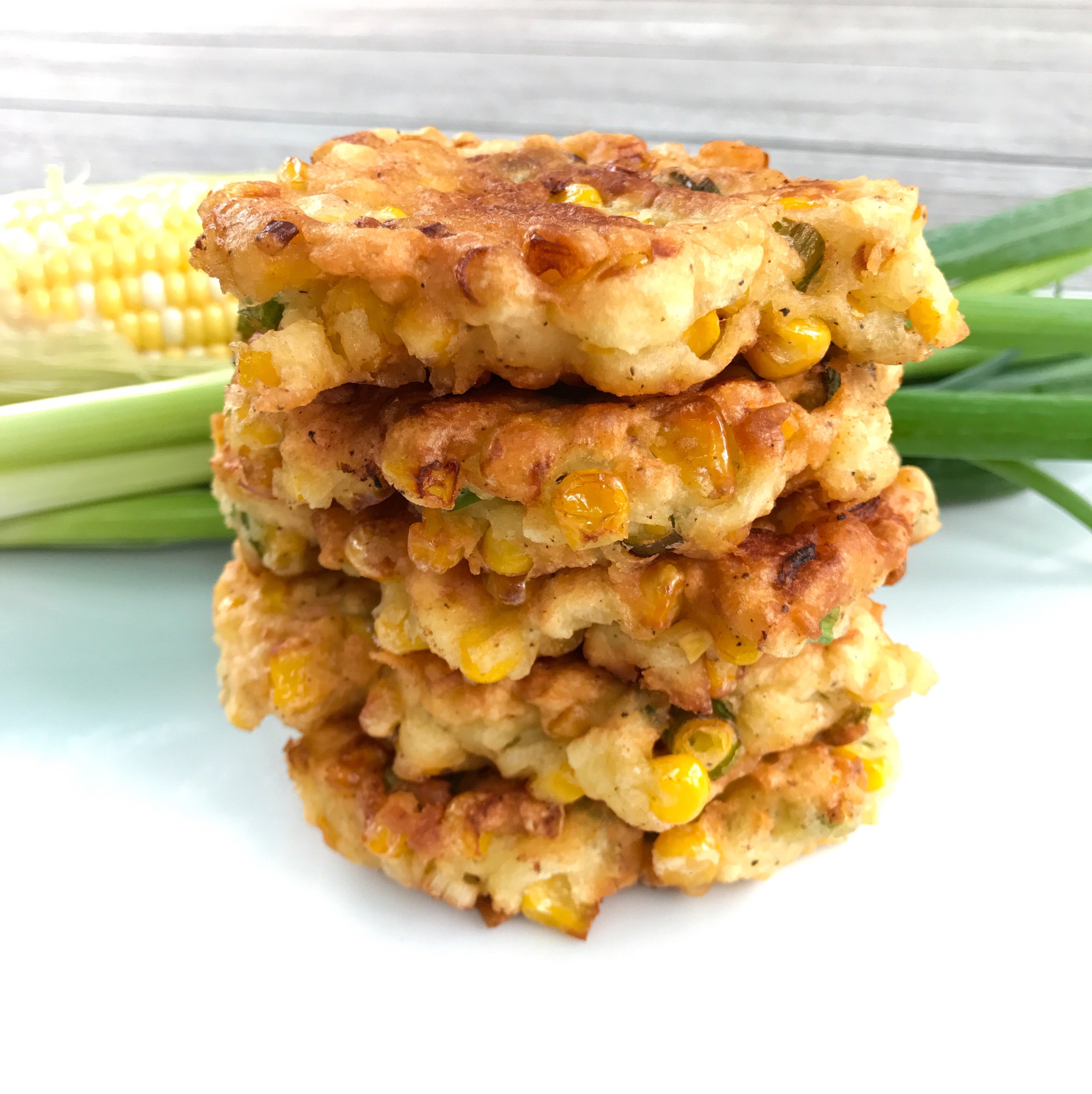 gluten free corn fritters #glutenfreerecipes most made reicpes www.healthygffamily