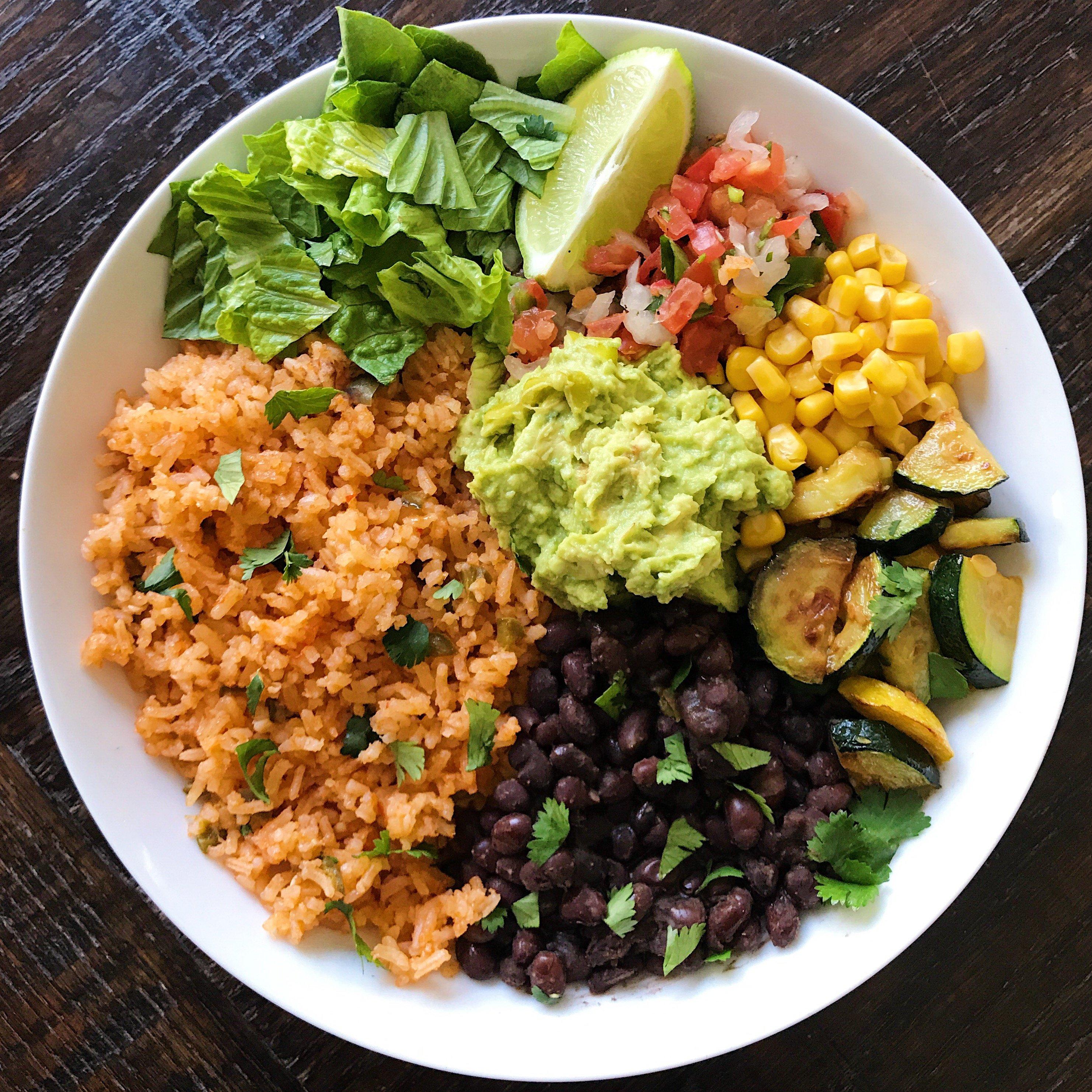 mexican rice black beans gluten free #glutenfreerecipes www.healthygffamilycom.