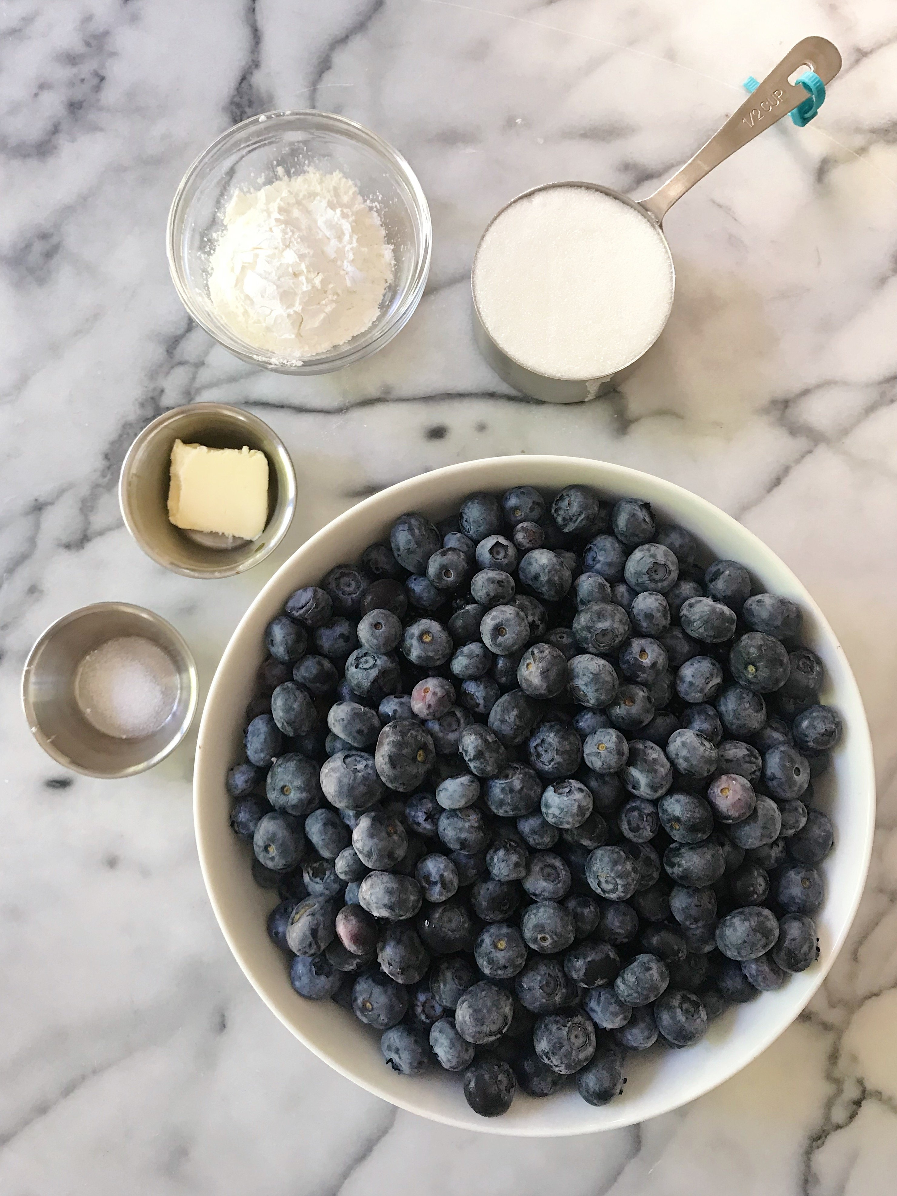 Gluten-Free Blueberry Cobbler #glutenfree #glutenfreerecipes www.healthygffamily.com