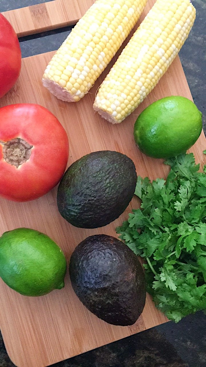 Tomato Corn Avocado Salad gluten free #glutenfreerecipes www.healthygffamily.com