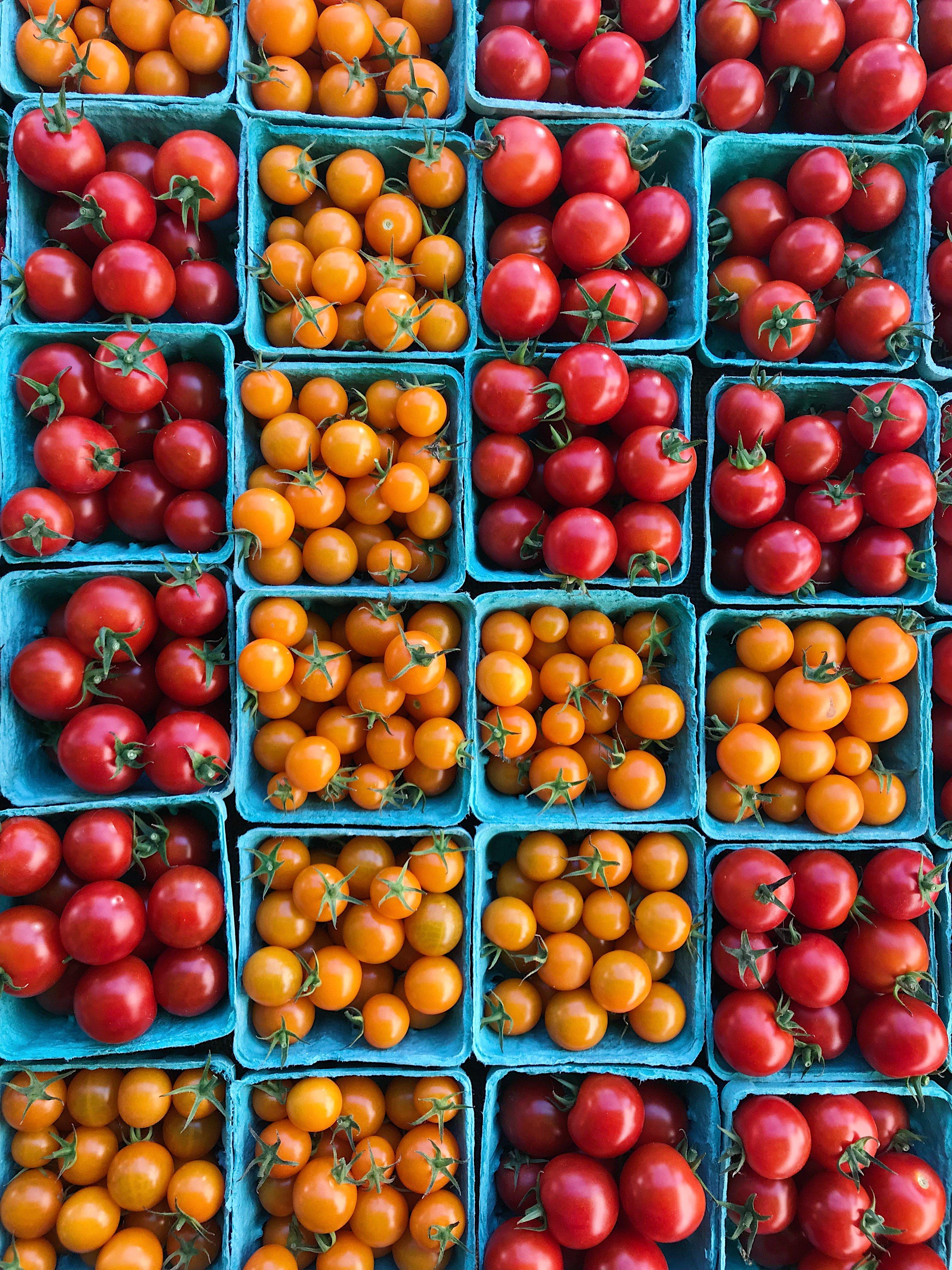 cherry tomtotes #glutenfree #pasta #glutenfreerecipes healthygffamily.com