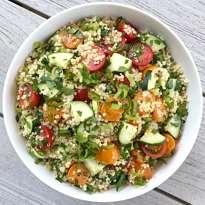 quinoa tabbouleh gluten free #glutenfreerecipes www.healthygffamily.com
