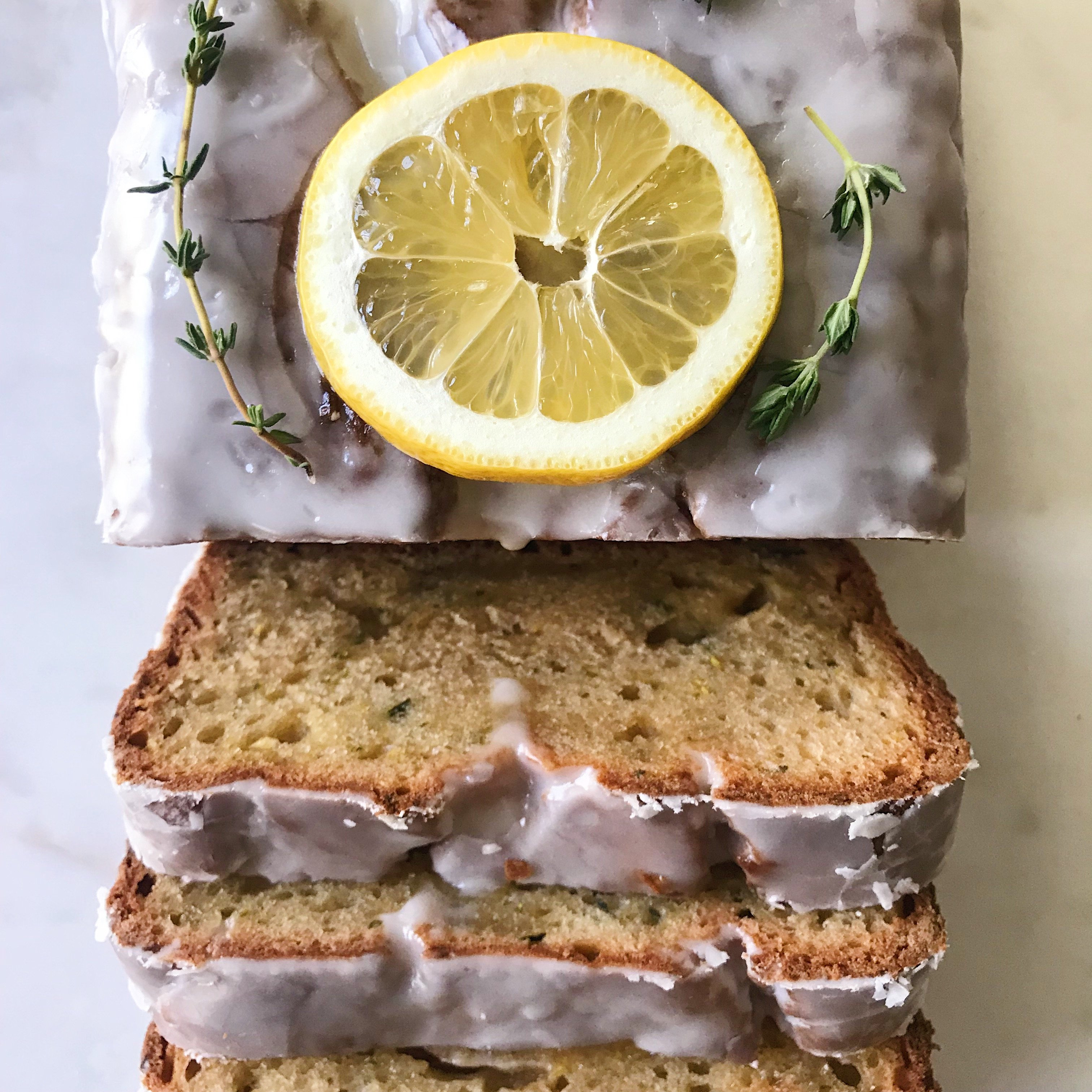 gluten-free lemon zucchini loaf #glutenfree #glutenfreerecipes healthygffamily.com