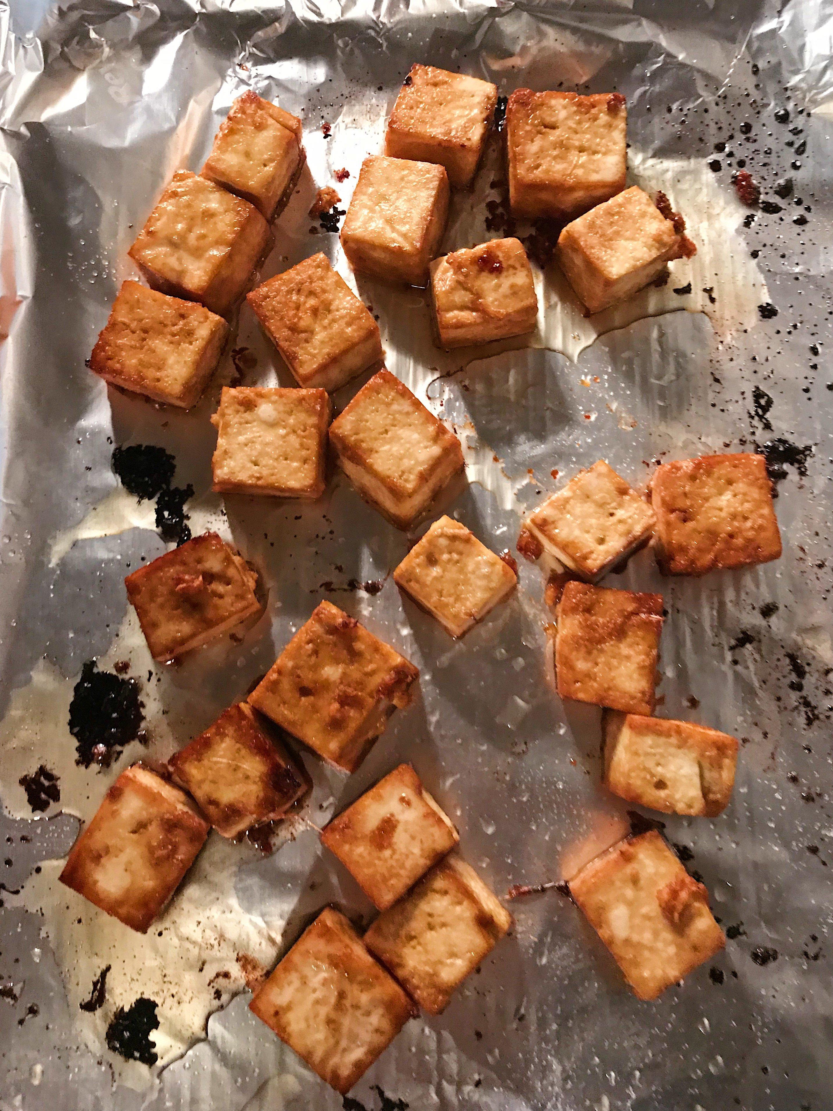 gluten free teriyaki tofu bowl #glutenfree #glutenfreerecipes www.healthygffamily.com