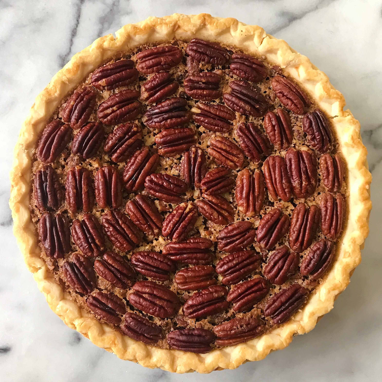 gluten free pecan pie www.healthyffamily.com