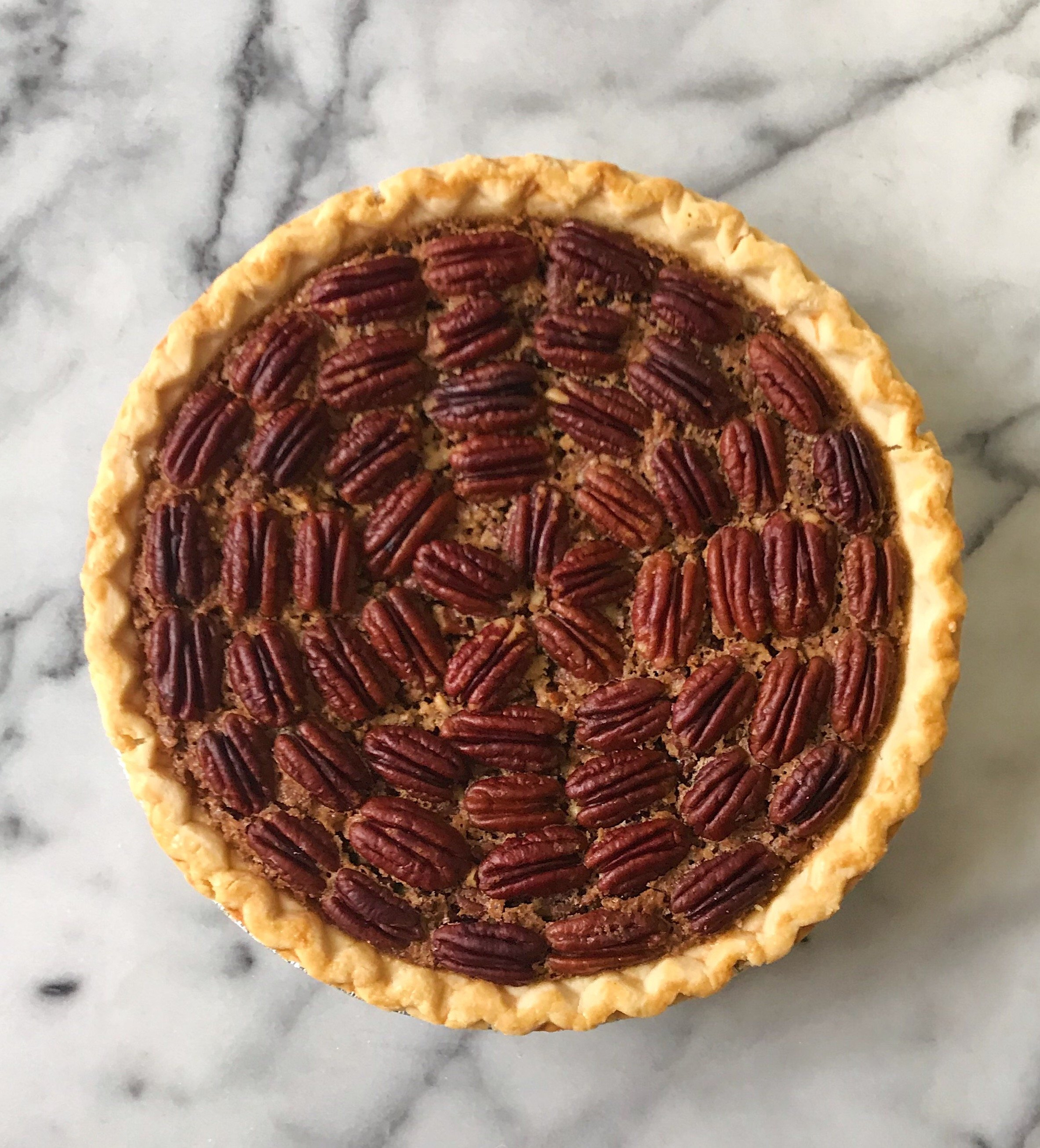 gluten free pecan pie #glutenfreerecipes www.healthyggffamily.com