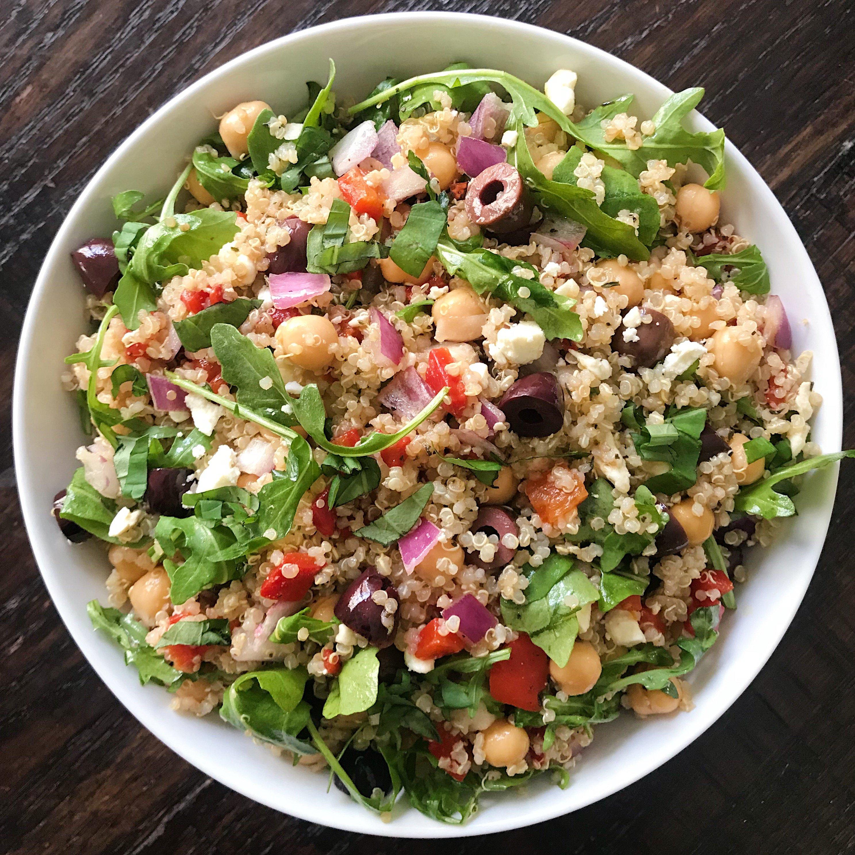 Mediterranean Quinoa Salad Healthygffamily Com