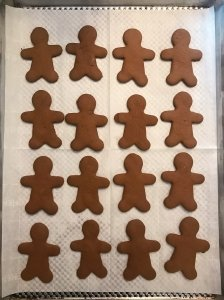 gluten free gingerbread cookies #glutenfreerecipes www.healthygffamily.com
