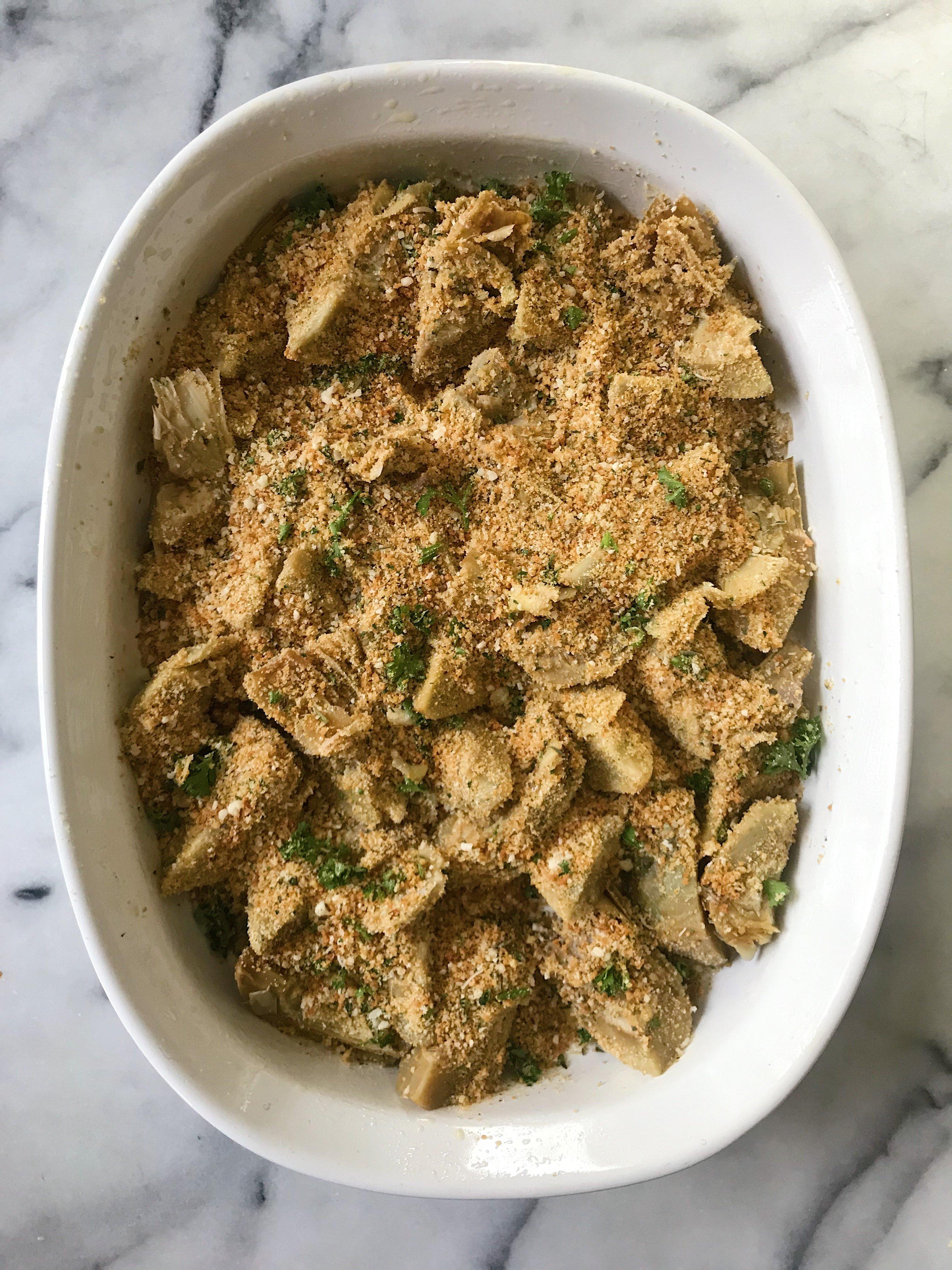 Italian Stuffed Artichokes gluten free #glutenfreerecipes www.heatlhygffamily.com