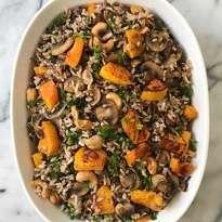 Baked Wild Rice with Veggies gluten free #glutenfreerecipes www.healthygffamily.com