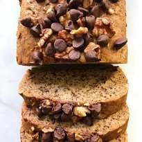 The best gluten free banana bread #glutenfreerecipes www.healthygffamily.com