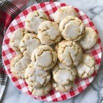 soft baked lemon poppyseed cookies gluten free vegan grain free #glutenfreerecipes www.healthygffamily.com