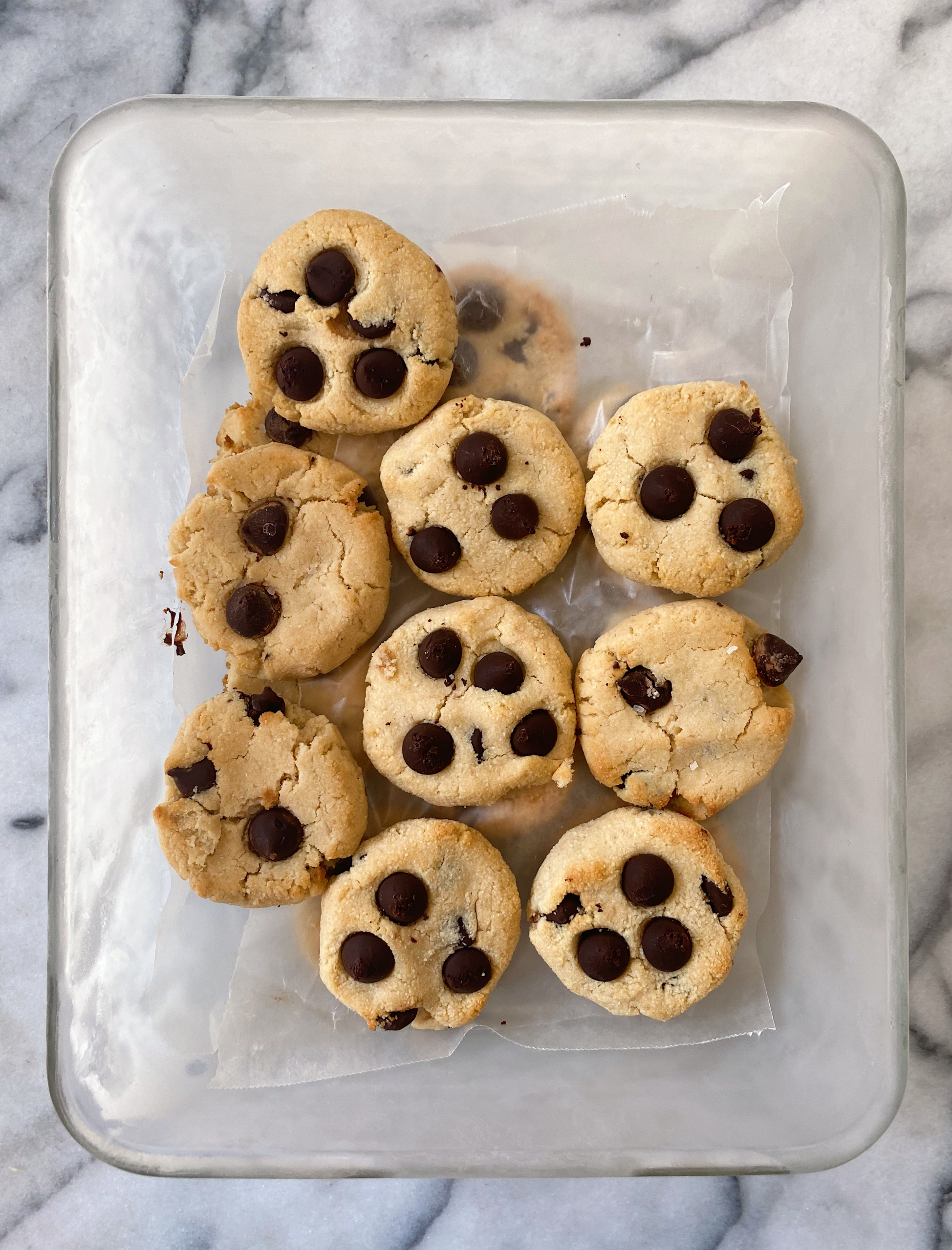 almond flour chocolate chip cookies paleo vegan gluten free www.healthygffamily.com