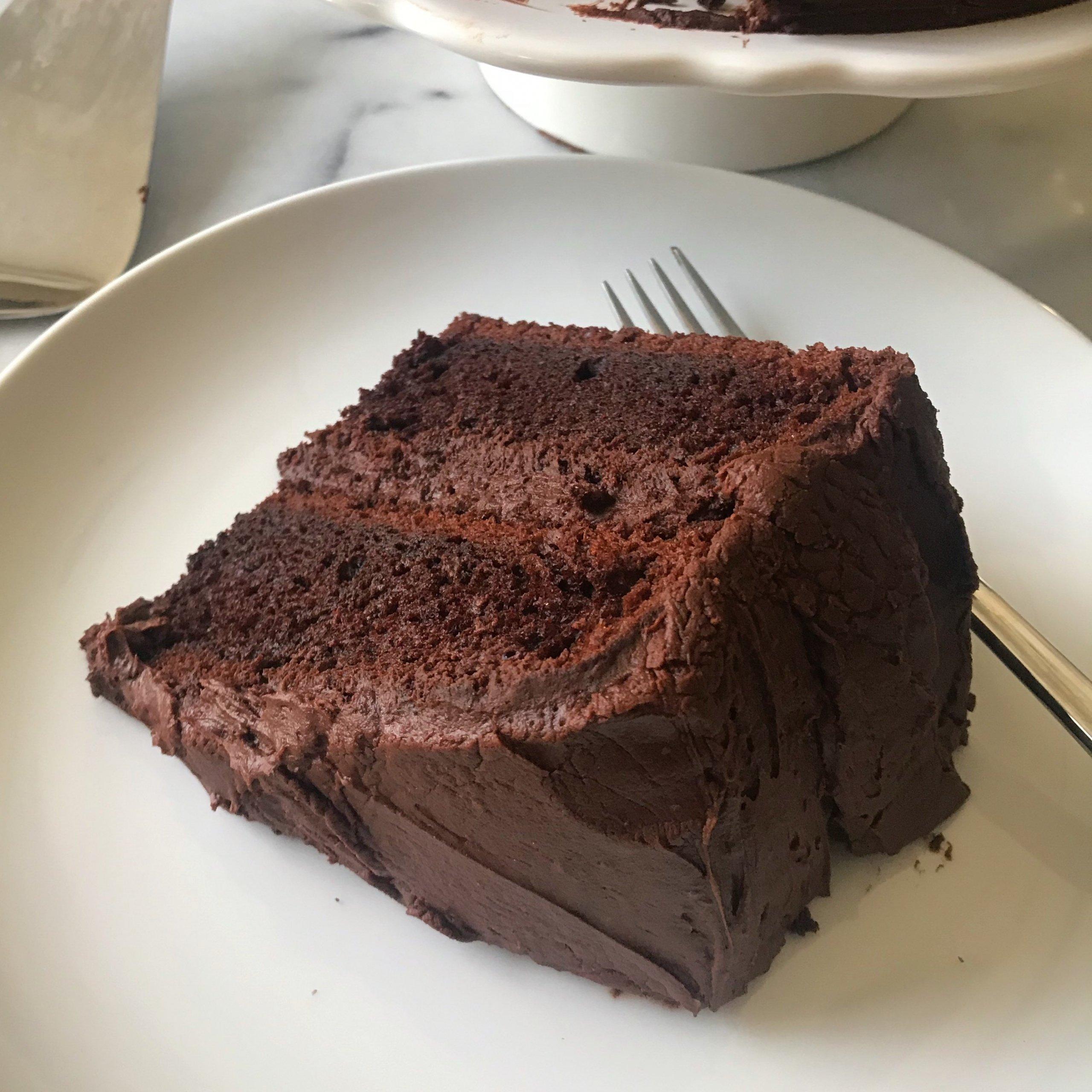 Best Chocolate Cake www.healthygffamily.com