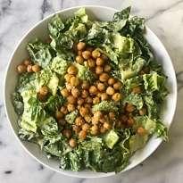 Vegan Caesar Salad #glutenfree #glutenfreerecipes www.healthygffamily.com