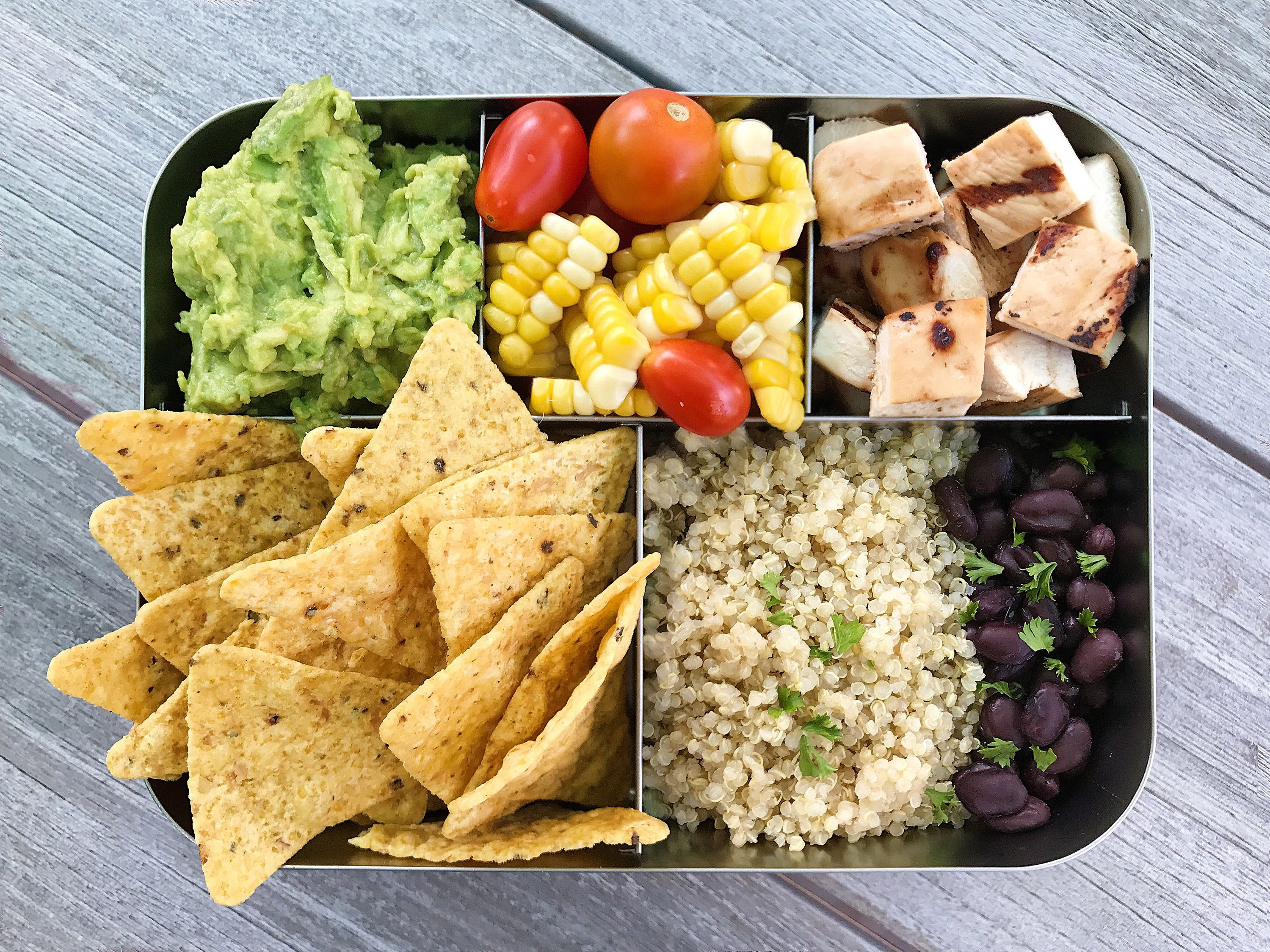 Gluten-Free Lunch Box Idea #glutenfree #glutenfreerecipes www.healthygffamily.com