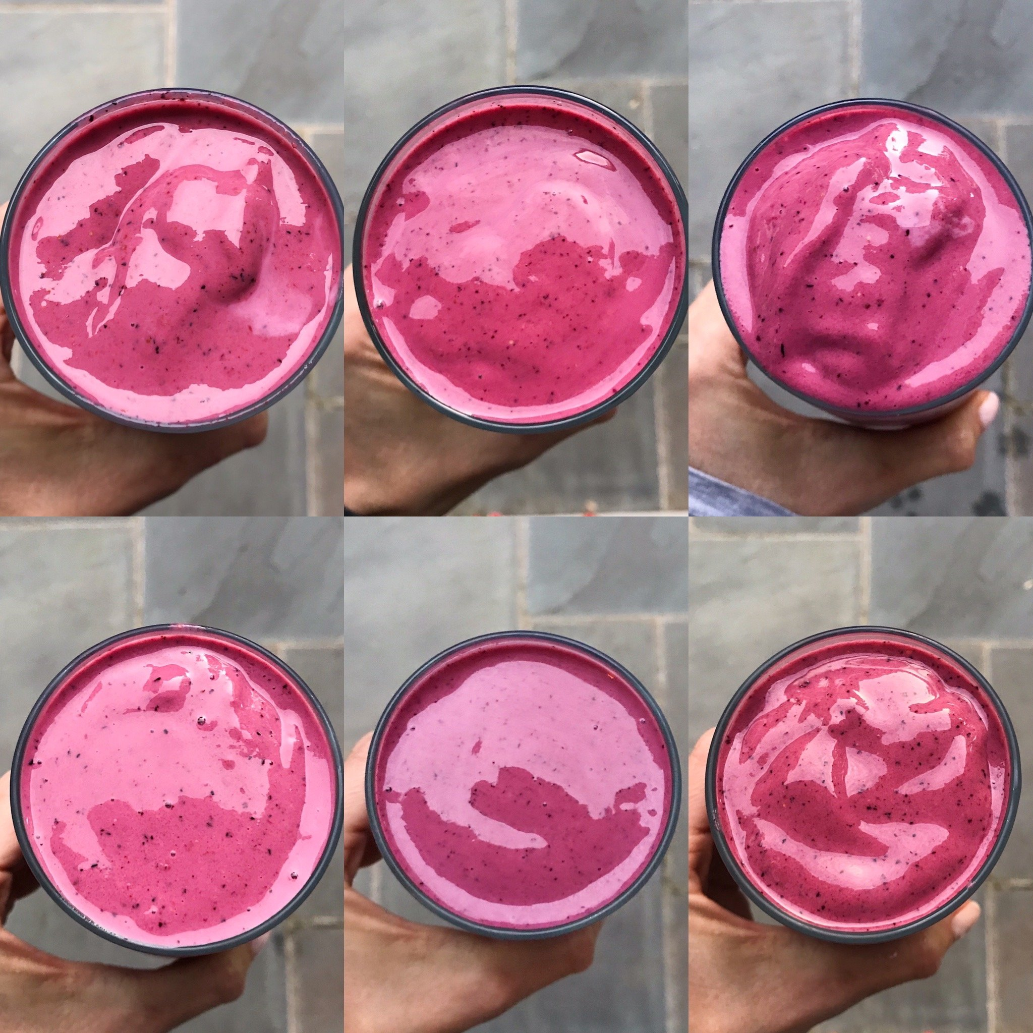 berry yogurt smoothie gluten-free #glutenfreecipes www.healthygffamily.com