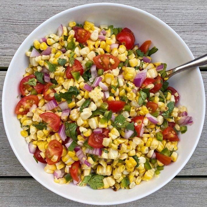 Zesty Corn Salsa gluten free #glutenfreerecipes www.healthygffamily.com