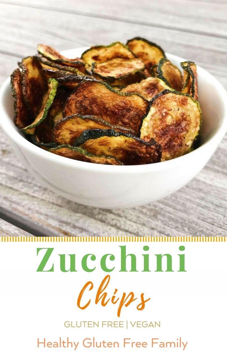 zucchini chips gluten free #glutenfreerecipes www.healthygffamily.com