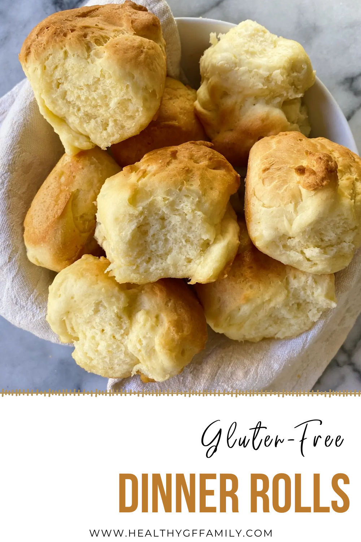 easy gluten free dinner rolls #glutenfreerecipes www.healthygffamily.com