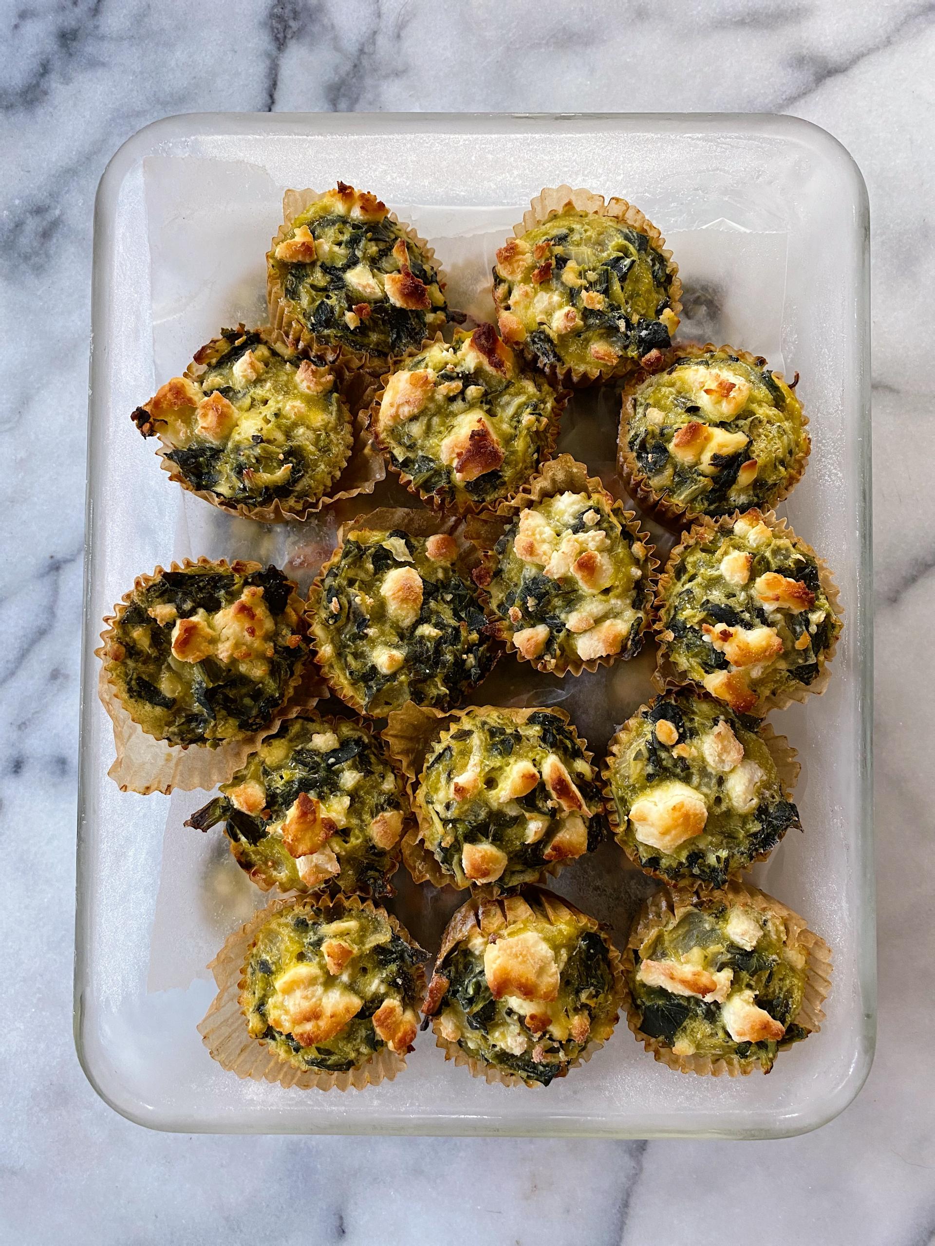 Spinach Pie Bites gluten free #glutenfree #glutenfreerecipes www.healthygffamily.com