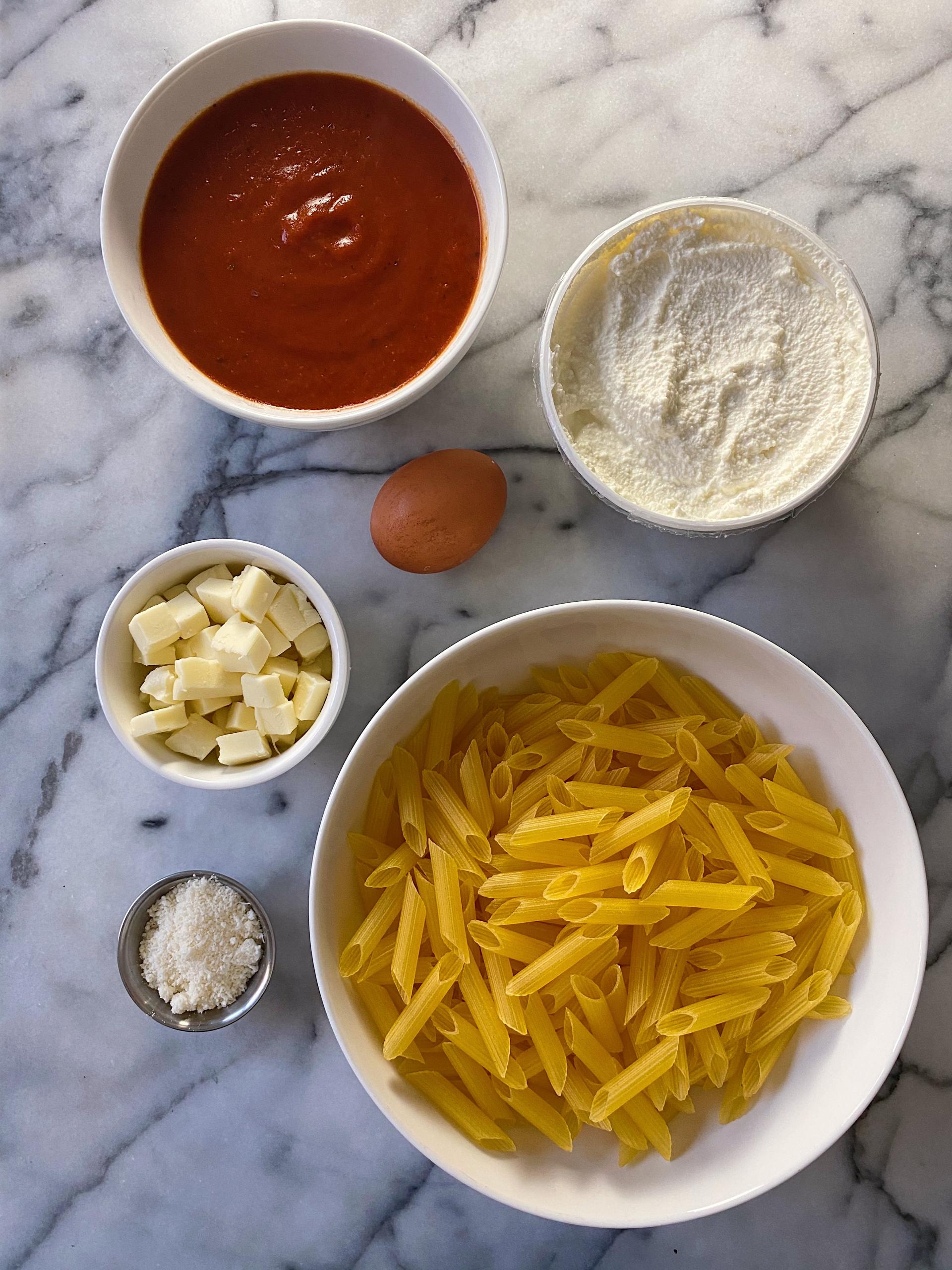 gluten-free baked ziti #glutenfreerecipes #glutenfree www.healthygffamily.com