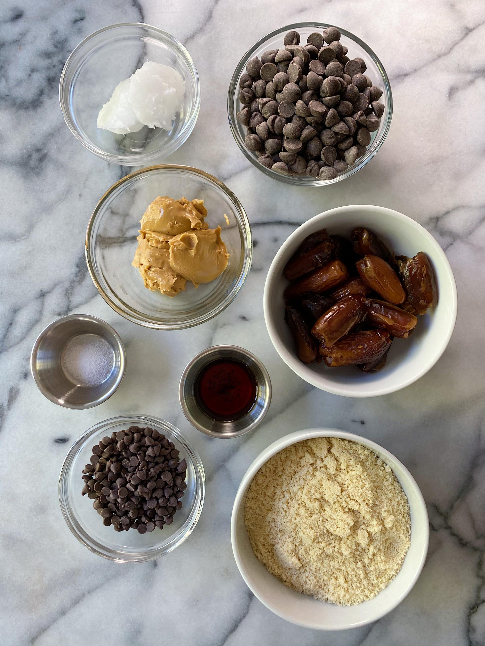 No Bake Cookie Dough Truffles easy recipe gluten-free www.healthygfffamily.com