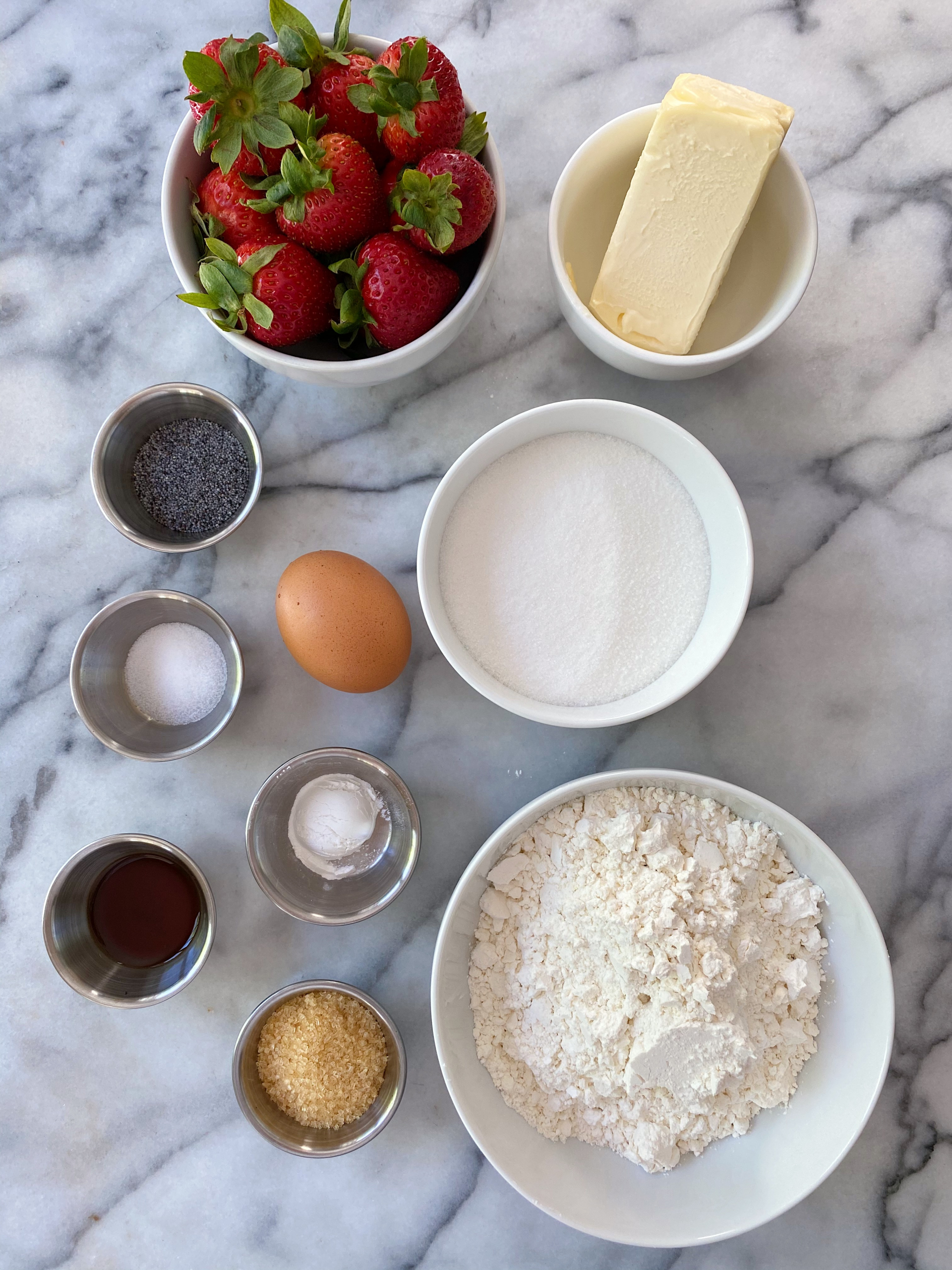 Strawberry Poppy Seed Cookies gluten free www.healthygffamily.com