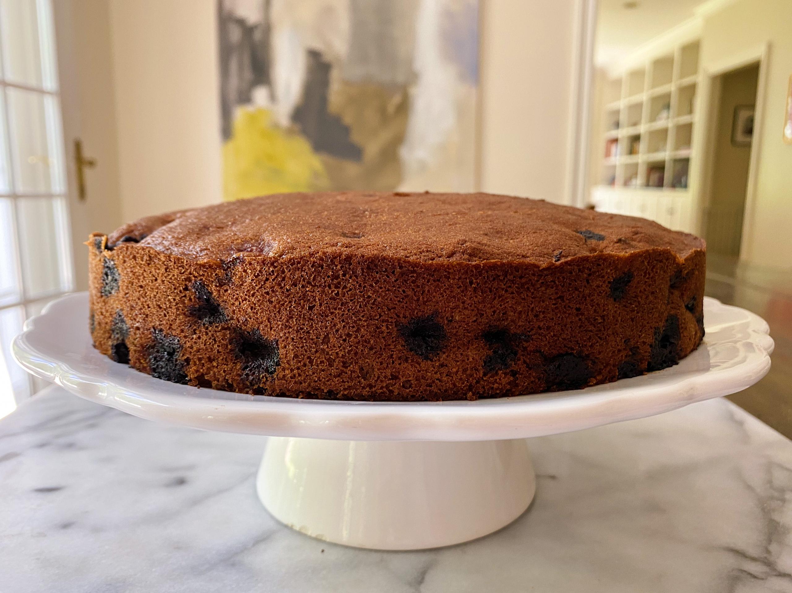 gluten free blueberry torte easy recipe www.healthygffamily.com
