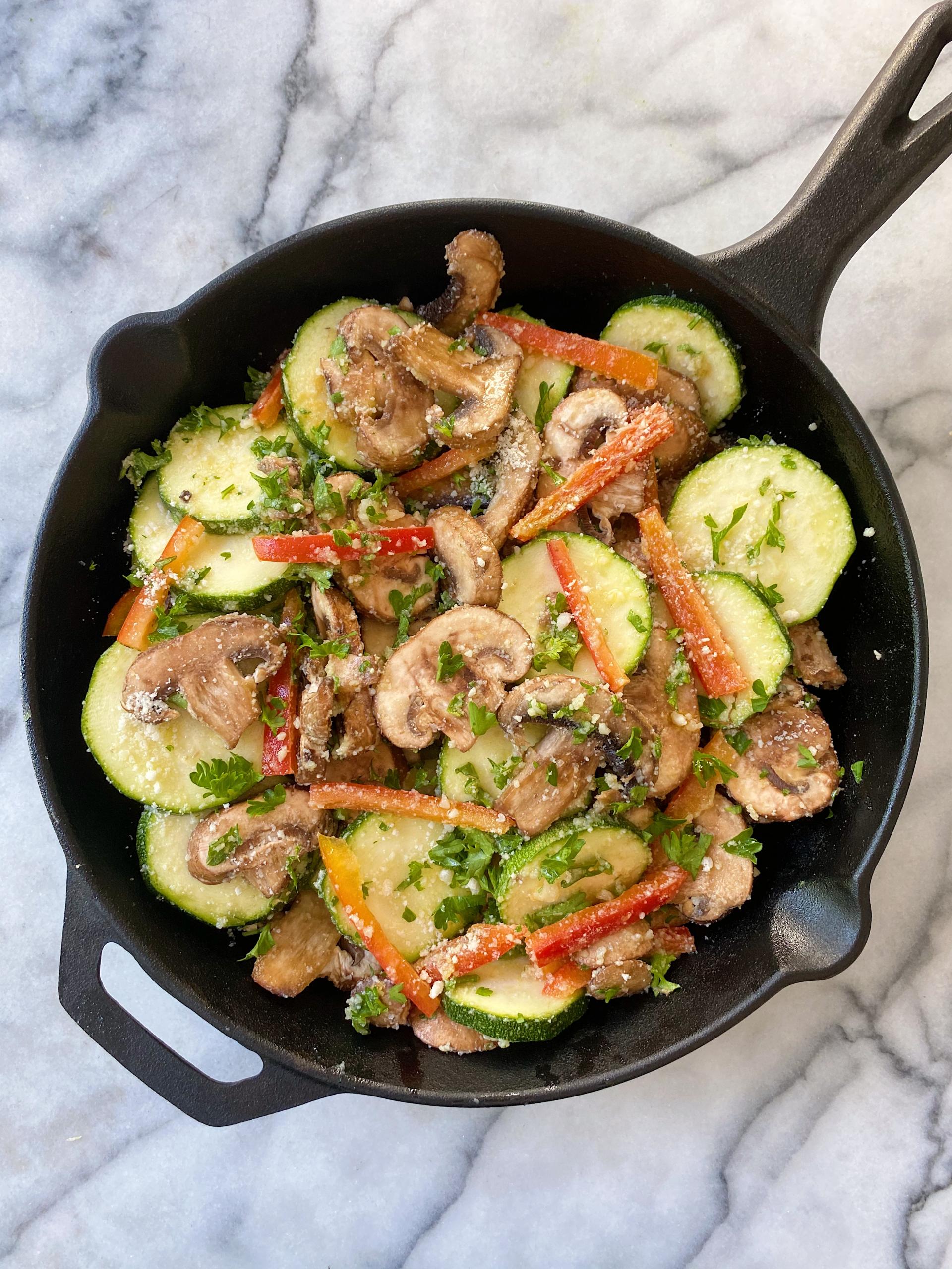 Easy Veggie Bake gluten free vegartarian recipe www.healthygffamily.com