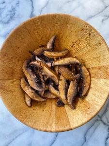 roasted portobello tacos corn salsa gluten free vegetarian easy www.healthygffamily.com