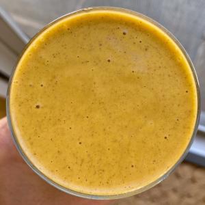 Healthy Pumpkin Pie Smoothie gluten free vegan www.healthygffamily.com