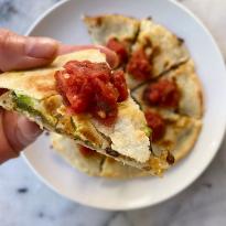 Lentil Avocado Tacos gluten free vegetarian www.healthygffamily.com